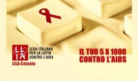 Dona il tuo 5×1000 alla LILA – Lettera aperta del presidente di LILA Catania ai sostenitori delle nostre attività